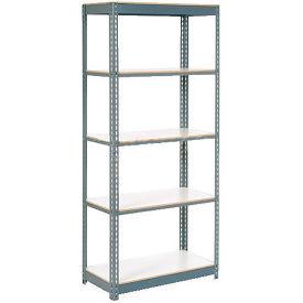 "Extra Heavy Duty Shelving 48""W x 24""D x 96""H With 6 Shelves, 1200 lbs. Capacity Per Shelf, Gray"