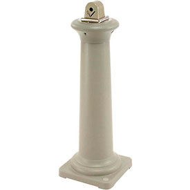 Rubbermaid Groundskeeper Tuscan Smokers Receptacle Sandstone
