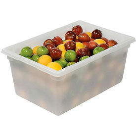 Rubbermaid 3528-00 White Plastic Box 16 5/8 Gallon 18 x 26 x 12 - Pkg Qty 6
