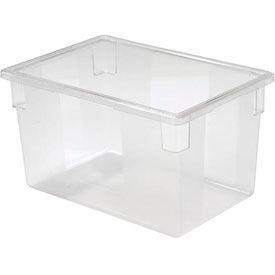 Rubbermaid 3301-00 Clear Plastic Box 21 1/2 Gallon 18 x 26 x 15 - Pkg Qty 6