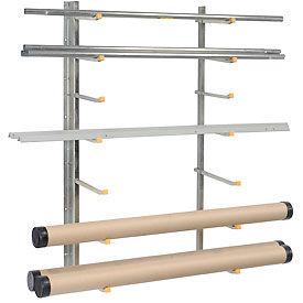 Vestil SR-WM, Wall Mounted Storage Rack (1 Pair)