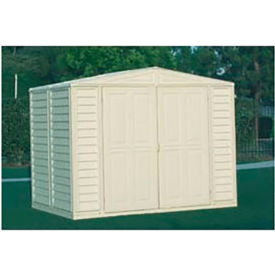 "DuraMate Vinyl Outdoor Storage Shed 00181, 7'10""W X 5'3""D X 6'1""H"