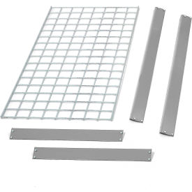 "Bulk Rack Shelf Wire Deck 36""W x 12""D Gray"