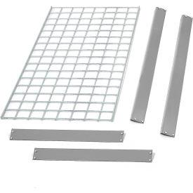 "Bulk Rack Shelf Wire Deck 96""W x 24""D Gray"