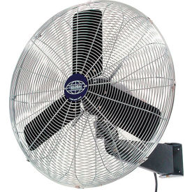 Oscillating Wall Mount Fan 30 Inch Diameter, 1/3HP, 8775CFM