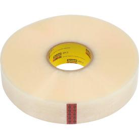"3M Machine Length Carton Sealing Tape 371 2"" x 1000 Yds 1.9 Mil Clear - Pkg Qty 6"