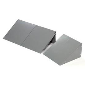 Global™ Locker Slope Top Kit 12x18 Gray