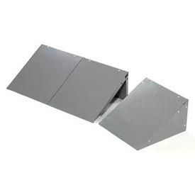 Global™ Locker Slope Top Kit 15x18 Gray