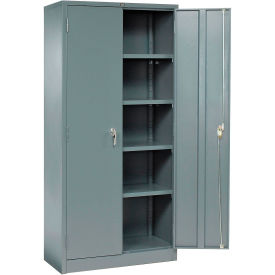 Global™ Storage Cabinet Easy Assembly 36x18x78 Gray