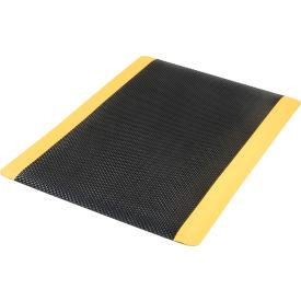 Supreme Sliptech Mat 11/16 Inch Thick 36x60 Black W/Yellow Border