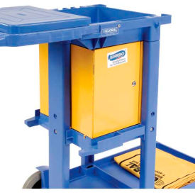 Locking Cabinet for Janitorial Cart