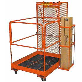 Forklift Work Maintenance Platform Easy To Assemble 36x36