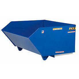 Vestil Low Profile Self Dumping Forklift Hopper H-100-MD 1 Cubic Yard 4000 Lbs.