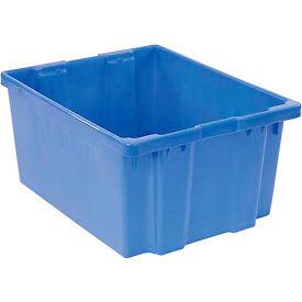 "LEWISBins SN3024-15 Polyethylene Container 30""L x 24""W x 15""H, Blue"