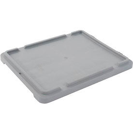 LEWISBins Lid CSN2117 For Stack-N-Nest Container SN2117-12, Gray - Pkg Qty 5