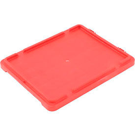 LEWISBins Lid CSN2420 For Stack-N-Nest Container SN2420-13, Red - Pkg Qty 5