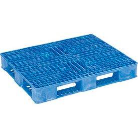 ORBIS SDA And FDA Double Sided Rackable Plastic Pallet 40x48OPCIISFBLUE - 40 x 48 Blue