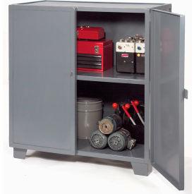"Jamco Extra Heavy Duty Storage Cabinet MH348-GP - Welded 12 Gauge 48""W x 30""D x 54""H Gray"