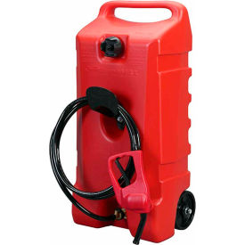 Flo n' Go Duramax Polyethylene Gas Caddy & Fuel Tank 14 Gallon Capacity, 06792