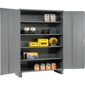 "Durham Heavy Duty Storage Cabinet 2506-4S-95 - 60""W x 24""D x 84""H"