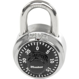 "Master Lock Combination Padlock - 3/4"" Shackle - With Key Access"