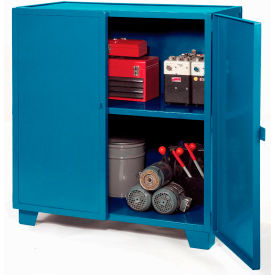 Extra Heavy Duty Storage Cabinet 72x36x54 - Blue