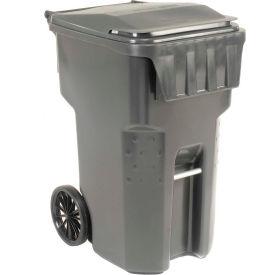 Otto Mobile Trash Container, 95 Gallon Gray - 9955050F-B69
