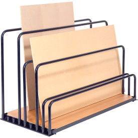 "Adjustable Floor Sheet Rack 60""L x 30""W x 36""H"