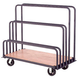"Adjustable Mobile Sheet Rack 60""L x 30""W x 36""H"