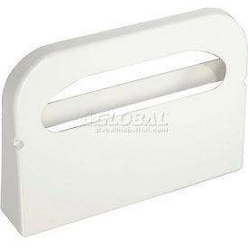 Boardwalk Wall Mount Plastic Toilet Seat Cover Dispenser, White - BWKKD100