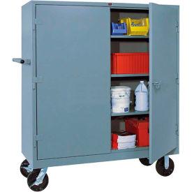 Lyon Heavy Duty Mobile Storage Cabinet DD1170 - 60x24x68 - Gray