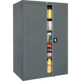 Sandusky Elite Series Storage Cabinet EA4R462478 - 46x24x78, Charcoal