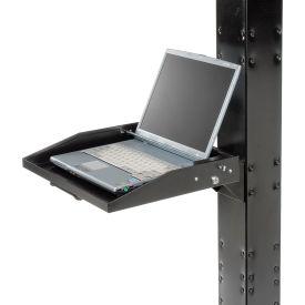 Locking Laptop Tray - Black