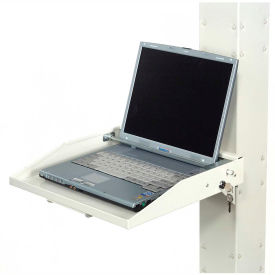 Locking Laptop Tray - Beige