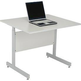 computer desks workstations computer desk height adjustable table