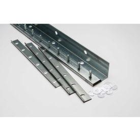 TMI Save-T Loc™ 4'L Deluxe Strip Curtain Door Mounting Bracket Kit