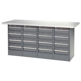 16 Drawer Workbench-Plastic