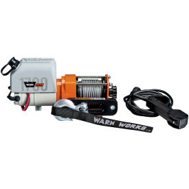 Warn 1700 DC Powered 1700 Pound Capacity 12V Utility Winch