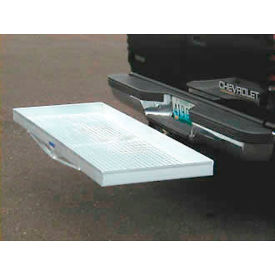 Aluminum Hitch Mounted Cargo Carrier 500 Pound Capacity