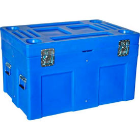 """Myton Shipping Container and Site Box SC-4534-1 No Casters - 45""""L x 30""""W x 34""""H, Yellow"""