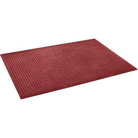 """Heavyweight Indoor Entrance Mat 3/8"""" Thick 24"""" X 36"""" Red"""