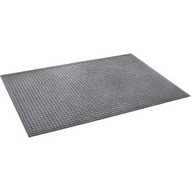 """Heavyweight Indoor Entrance Mat 3/8"""" Thick 24"""" X 36"""" Gray"""