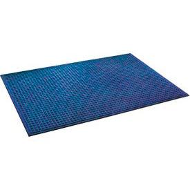 "Heavyweight Indoor Entrance Mat 3/8"" Thick 48"" X 72"" Blue"