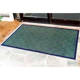 "Outdoor Scraper Entrance Mat 1/4"" Thick 24"" X 36"" Green"