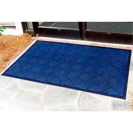 "Outdoor Scraper Entrance Mat 1/4"" Thick 24"" X 36"" Blue"