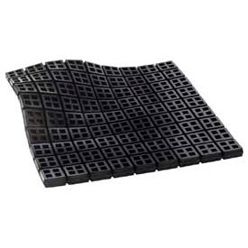 """Easy Cut Waffle Pad - Natural Rubber 18"""" X 18"""" X 3/4"""""""