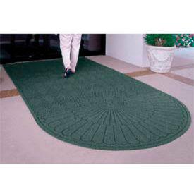 Waterhog Grand Classic Mat One Oval / One Straight 3'W X 10'L Green