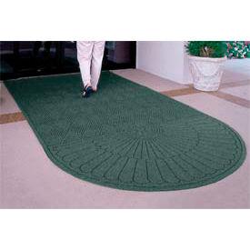 "Waterhog Grand Classic Mat One Oval / One Straight 4'W X 5'11""L Green"