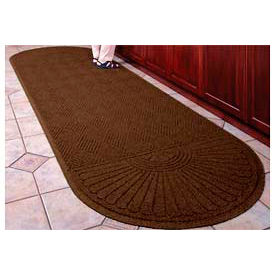 Waterhog Grand Classic Mat Two Oval 4'W X 8'L Brown
