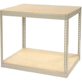 """Record Storage Rack Without Boxes 42""""W x 15""""D x 36""""H"""